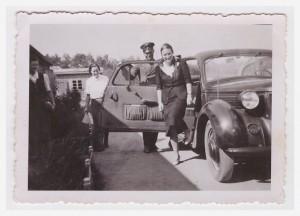 Ruth Geede in jungen Jahren.