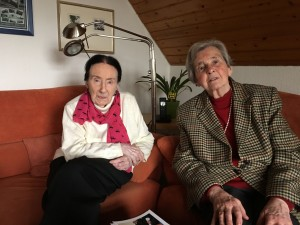 Ruth Geede und Eva Prott-Klebe.